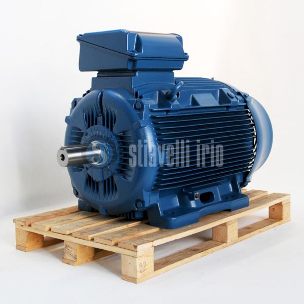 WEG Electric Motor 160 kW 6 Poles IE3